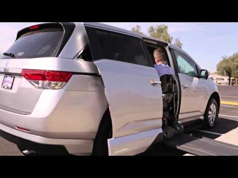 Honda Odyssey Wheelchair Vans Product Video: VMI