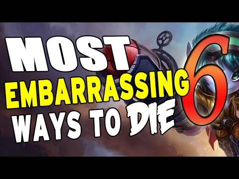 Most Embarrassing Ways to Die! in League #6