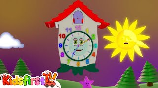 Kids Cartoons In 3d Animation: Clock! {时钟时间}