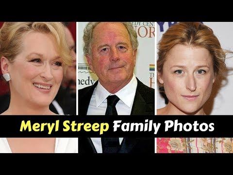Actress Meryl Streep Family Photos With Husband Don Gummer, Daughter Mamie Gummer, Son Henry Wolfe