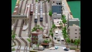 第7回京急鉄道フェア 巨大ジオラマ Nゲージ走行シーン集