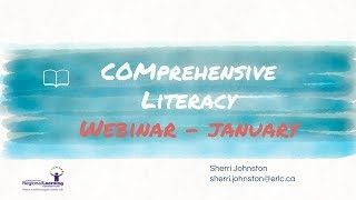 Comprehensive Literacy Instruction:...