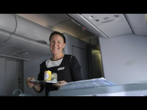 Finnair A330-300 Business Class review full flight Bangkok-Helsinki in HD