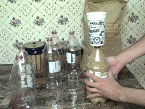 Storing Dry Goods 2 Liter Bottles