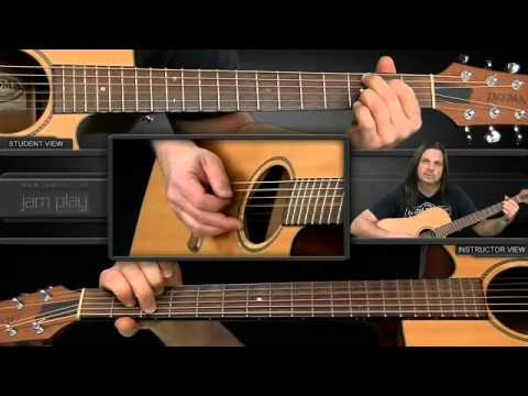 How To Play It's Been Awhile (Acoustic)On Guitar (Mike Mushok)
