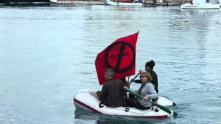 action Panama yachts nuit debout Nice