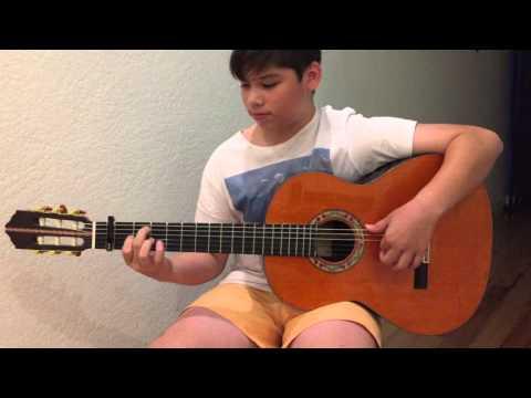 """Sabicas Bulerias - James """"Cante Chico"""" Flamenco on a Juan Montes 146M."""