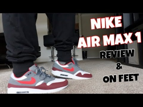 air max 1 weiß cool grey red