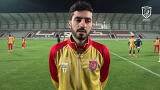 قناة لخويا | عبدالرحمن: مباراة كبيرة ضد الريان