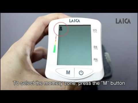 laica-automatic-wrist-type-blood-pressure-monitor-(bm1006)---how-to-use