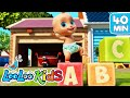 👶The ABC SONG and more Learning Songs for KIDS | LooLoo KIDS