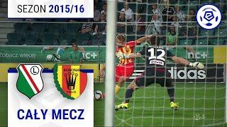 Legia Warszawa - Korona Kielce [2. połowa] sezon 2015/16 kolejka 06