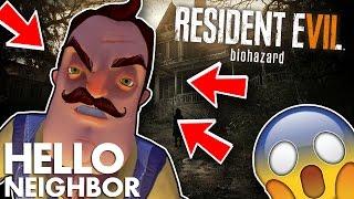 Minecraft Hello Neighbor - Resident Evil (Minecraft Roleplay)