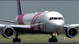 Delta BCRF Livery Boeing 767 in Action at Dublin Airport