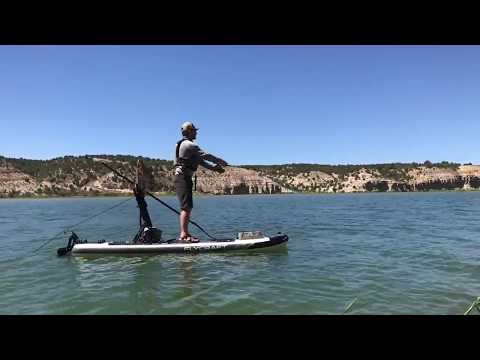 0 - Das Fishing SUP von Flycraft ist speziell für Angler konzipiertDas Fishing SUP von Flycraft ist speziell für Angler konzipiert