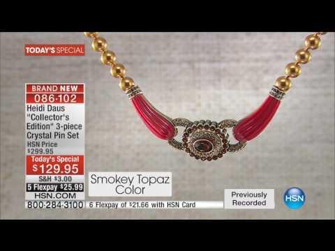 HSN | Heidi Daus Fashion Jewelry Anniversary 09.12 - 06 AM