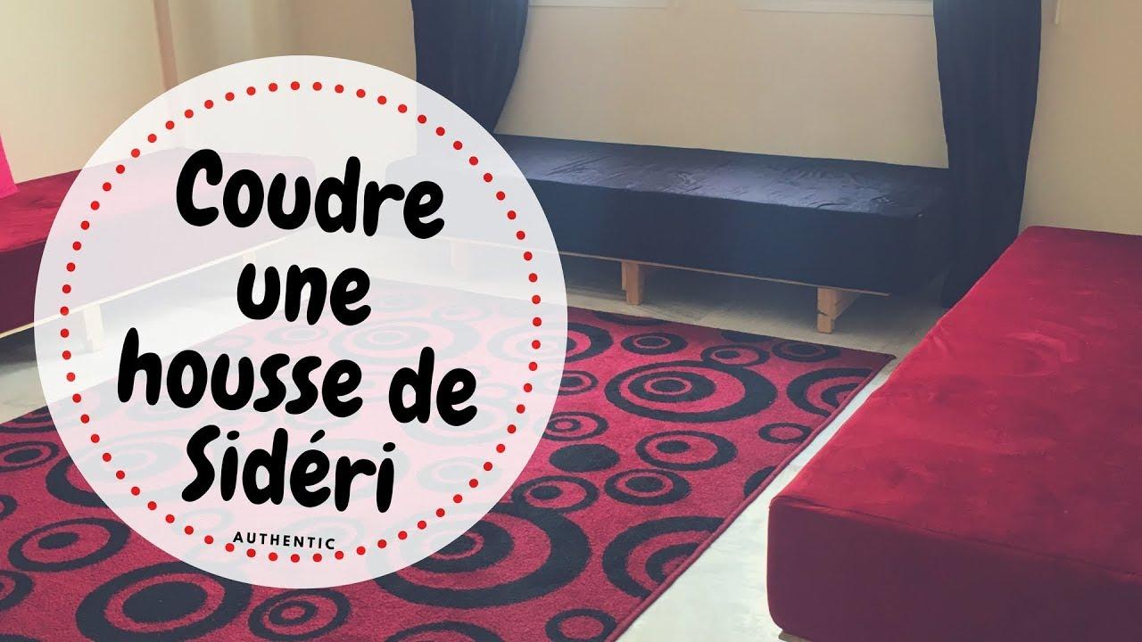 Coudre une housse de sideri (salon marocain)