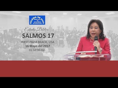 447- Estudio bíblico, Salmo 17  - Hna María Luisa Piraquive - IDMJI