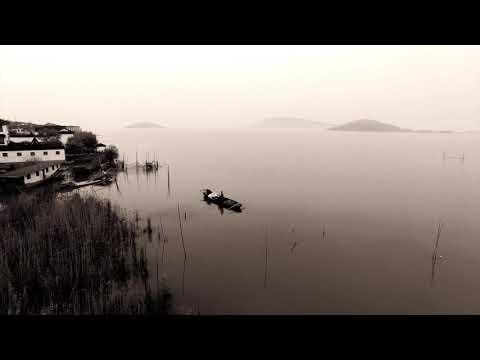 Flight over Xishan Island - Suzhou District
