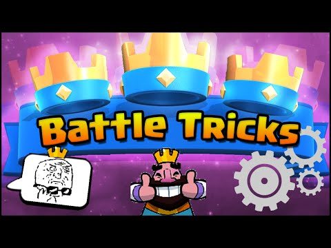 Clash Royale TRICKS | Battle Tricks and Attack Strategy & Defense Strategy Tips & Tricks