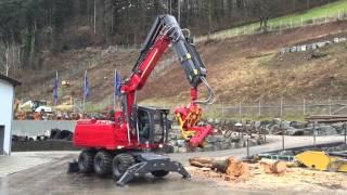 Forstbagger EHF 250 turbo