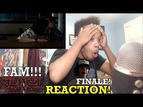"Stranger Things Season 1 Episode 8 ""The Upside Down"" FINALE REACTION!"