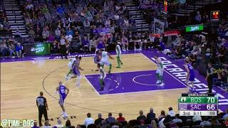Boston Celtics Defensive Highlights Vs Sacramento Kings (03/25/2018)