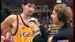 Limoges CSP/Pau-Orthez 1996.97 - Yann BONATO 32 pts !!!