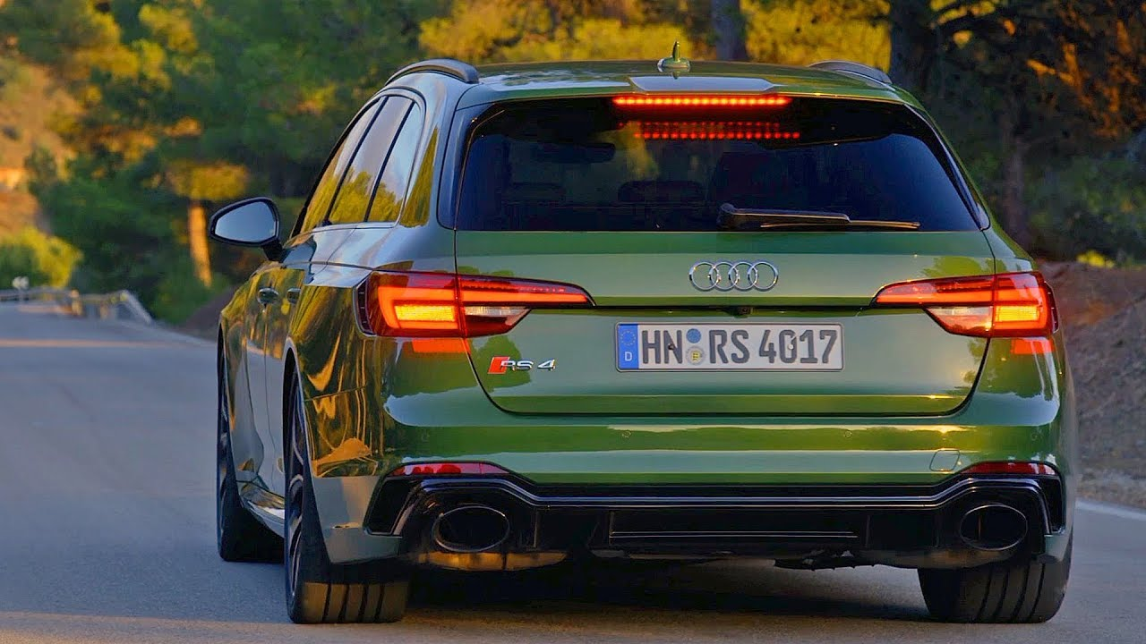 Audi RS4 Avant (2018) The Best Sports Wagon? - YouTube