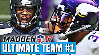 Madden 17 ultimate team ep.1 - new team intro & first h2h game