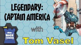 Legendary: Captain America Review - with Tom Vasel