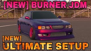 Updated Burner JDM Ultimate Setup + Test Drive! (Toyota Chaser) | CarX Drift Racing