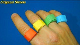 как сделать кольцо из картона