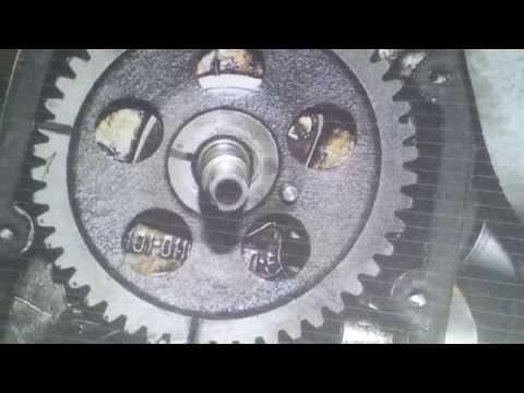 мотоцикл Урал проверка фаз ГРМ