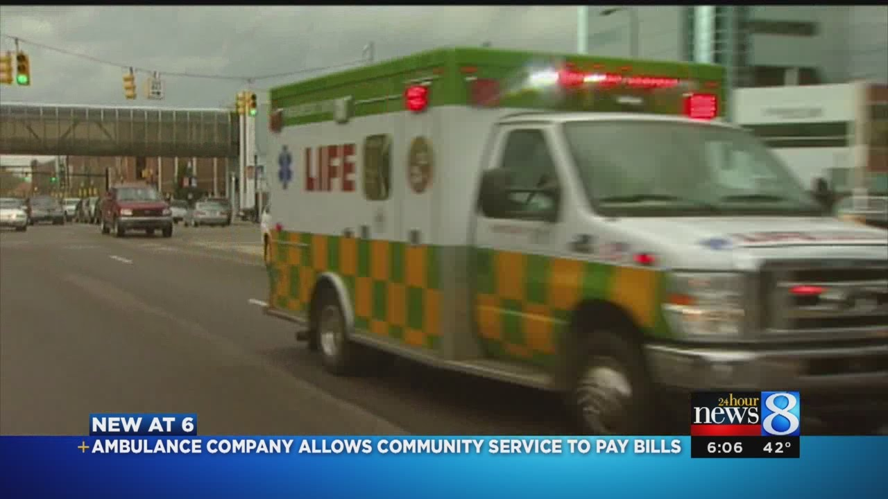 LIFE EMS program allows people to pay off bill by volunteering