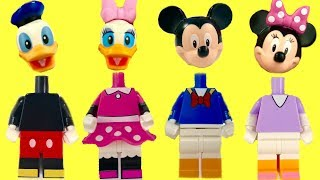 Mickey Mouse Clubhouse Legos with Wrong Heads