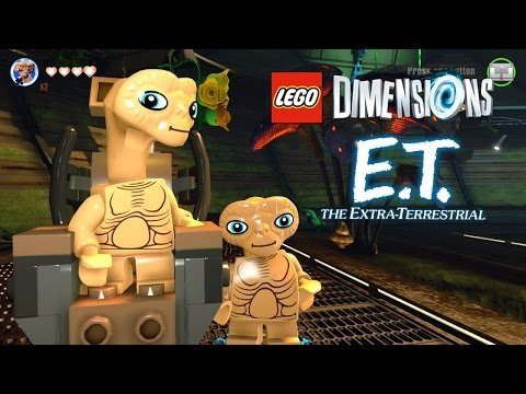 LEGO Dimensions ET The Extra Terrestrial World Free Roam