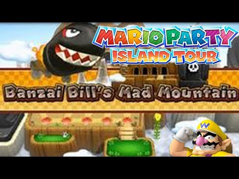 Mario Party: Island Tour! Banzai Bill's Mad Mountain