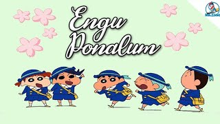 Engu Ponalum Thooram Sendralum Song Shin Chan Version | Natpin Isai Song Shin Chan Version