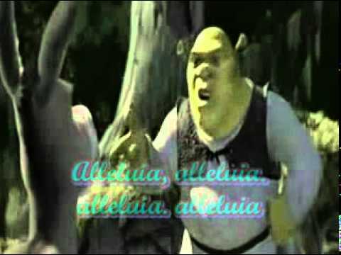 ALLELUIA SHREK - LYRICS