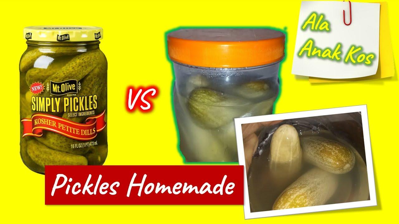 Resep Pickle Simple Ala Anak Kosan