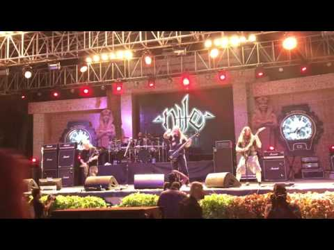 Sacrifice Unto Sebek by Nile (USA) HD Live in Bangalore Open Air 2017