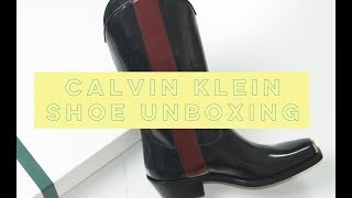 Raf Simons Chit Chat | Calvin Klein Unboxing