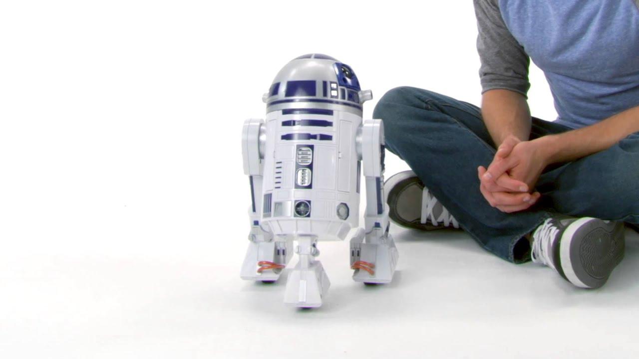 boneco interativo star wars r2d2 hasbro youtube. Black Bedroom Furniture Sets. Home Design Ideas