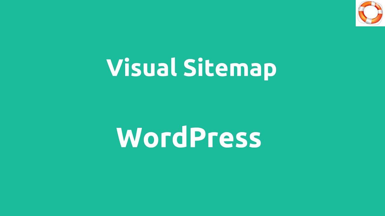 wordpress visual sitemap youtube