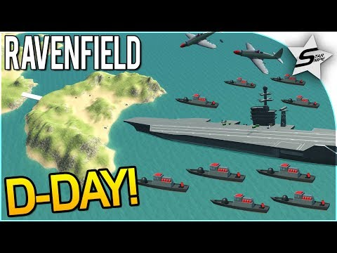 """D-DAY INVASION 2.0!!"" - NEW ISLANDS INVASION! - NEW Ravenfield Map UPDATE - Ravenfield Beta 6/Steam"