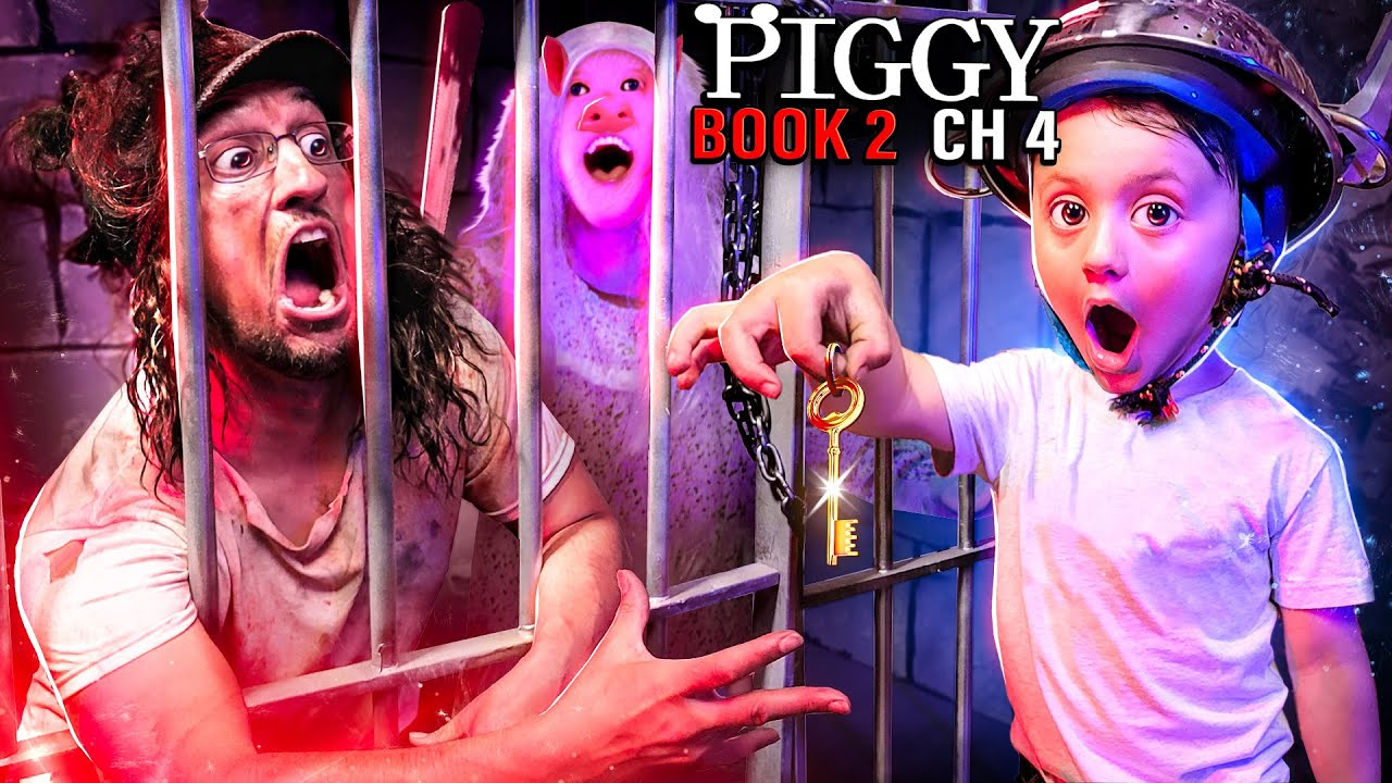 Download PIGGY Trapped Me 4 MONTHS!! (FGTeeV Family vs. ROBLOX Book 2 Ch4 Gameplay/Skit)