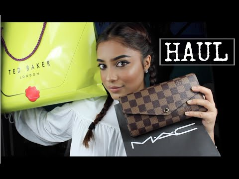 19TH Birthday/ EID HAUL (Louis Vuitton, Ted Baker, M.A.C etc.) | Tashfia Mahmud