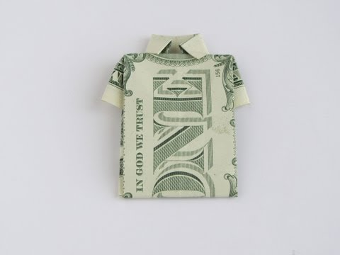 Money Origami Shirt