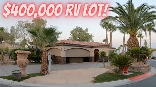 $400,000 RV LOT AT LVM, CAN I GET FINANCING?